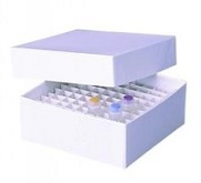 Cryo vilas and cryogenic storage boxes