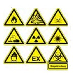 Hazard and prohibitive labels