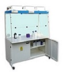 Fume hoods with filtration system
