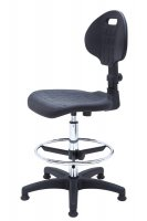 Laboratory swivel chair PUR Special