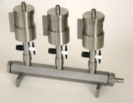 3-monifold vacuum filtration systems package