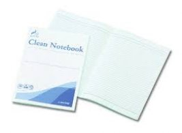 ASPURE Notebook for Cleanroom, 64 pages, pack of 10
